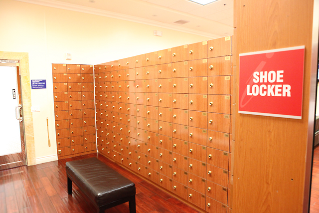 Private Shoe Locker