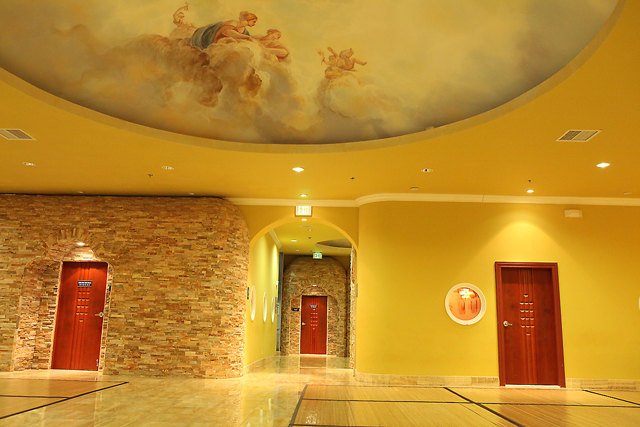 Specially Heated Therapeutic Rooms Entrance way